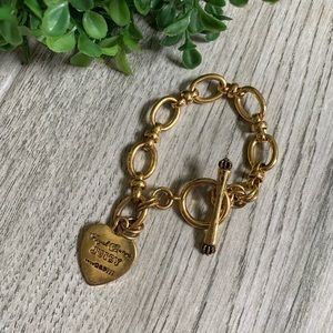 Juicy Couture Jewelry - Juicy Couture Gold Bracelet